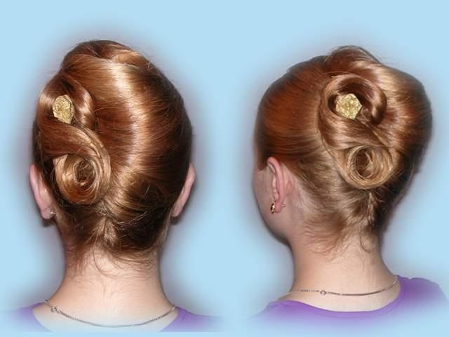 Вечерние причёски причёски каталог